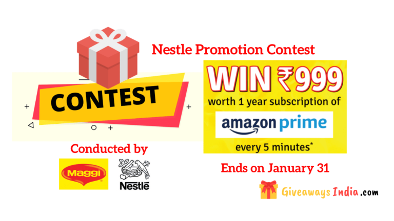 Nestle Promotion Contest