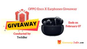 OPPO Enco X Earphones Giveaway