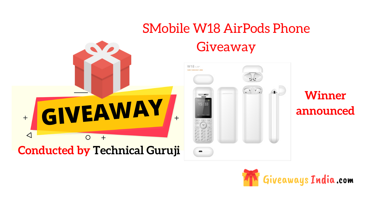 SMobile W18 AirPods Phone Giveaway