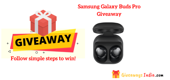 Samsung Galaxy Buds Pro Giveaway
