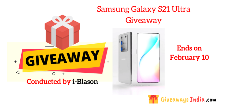 Samsung Galaxy S21 Ultra Giveaway