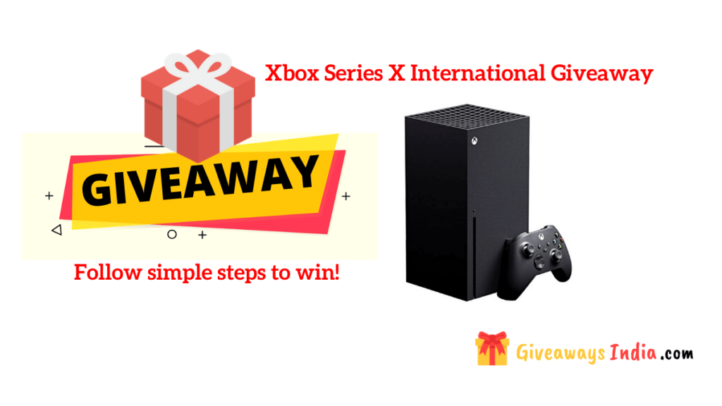 Xbox Series X International Giveaway