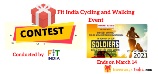 Fit India Cycling and Walking Event