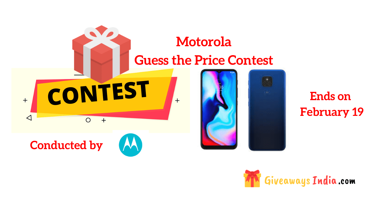 Motorola Guess the Price Contest