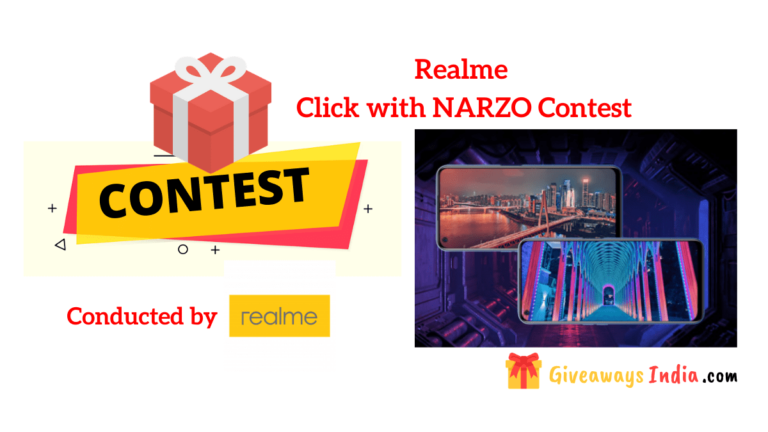 Realme Click with NARZO Contest