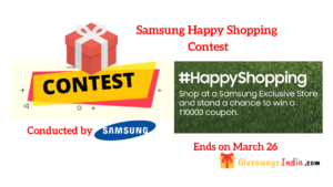 Samsung Happy Shopping Contest