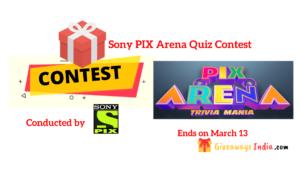 Sony PIX Arena Quiz Contest