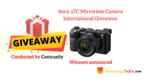 Sony a7C Mirrorless Camera International Giveaway