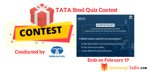 TATA Steel Quiz Contest