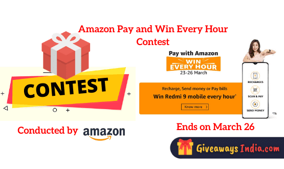 Amazon Pay and Win Contest