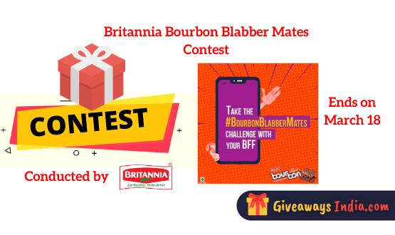 Britannia Bourbon Blabber Mates Contest