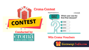 Croma Contest