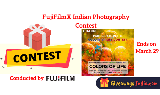 FujiFilmX Indian Photography Contest