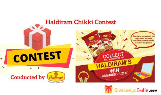 Haldiram Chikki Contest