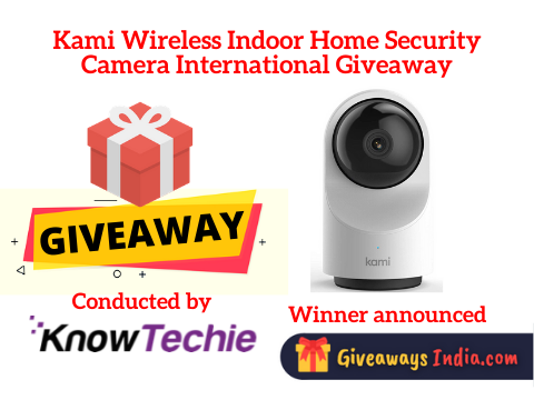 Kami Wireless Indoor Home Security Camera International Giveaway