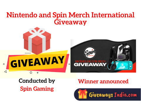 Nintendo and Spin Merch International Giveaway