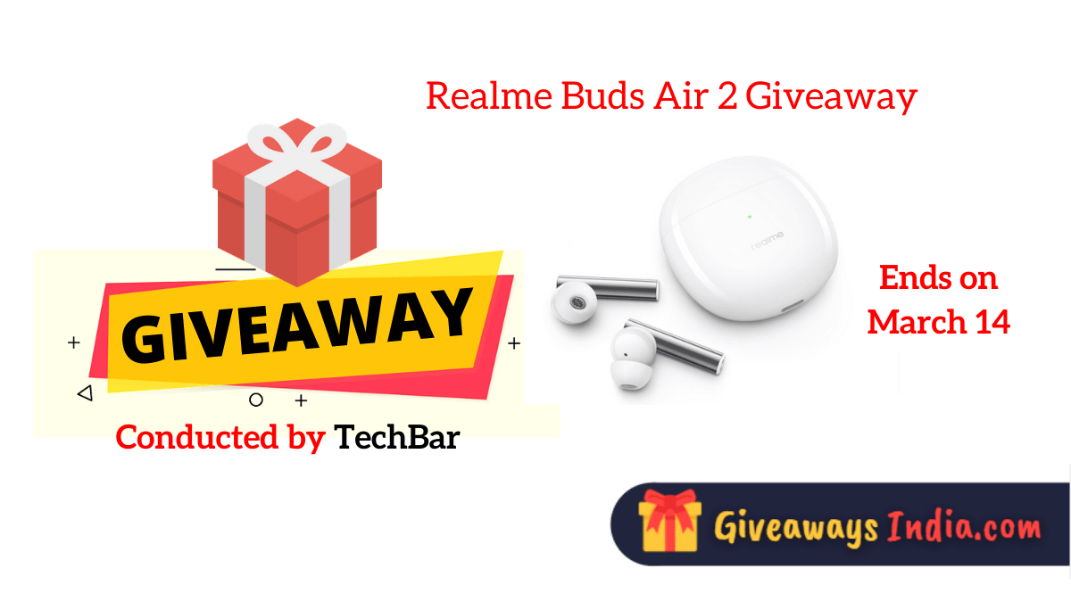 Realme Buds Air 2 Giveaway