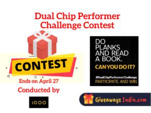 iQOO Dual Chip Performer Challenge Contest