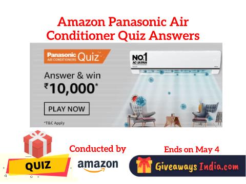 Amazon Panasonic Air Conditioner Quiz Answers