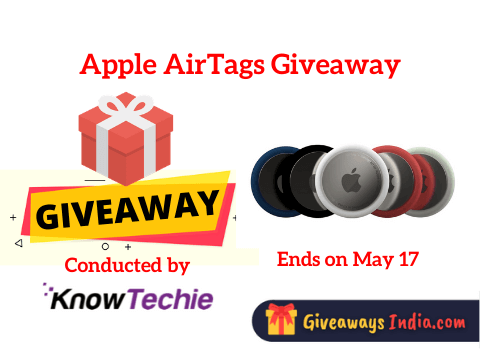 Apple AirTags Giveaway