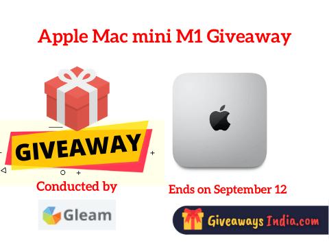 Apple Mac mini M1 Giveaway