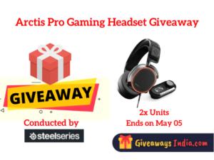 Arctis Pro Gaming Headset Giveaway
