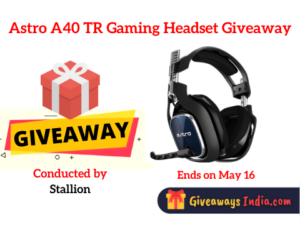 Astro A40 TR Gaming Headset Giveaway