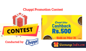 Chappi Promotion Contest