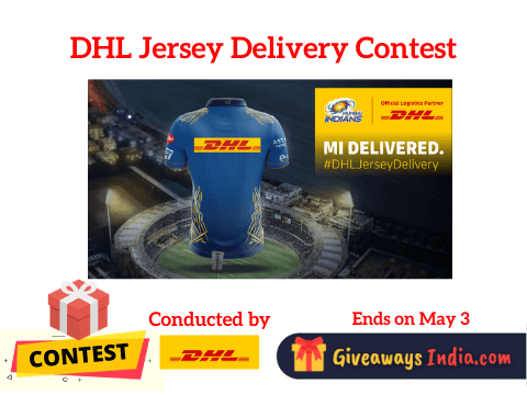 DHL Jersey Delivery Contest