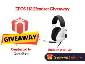 EPOS H3 Headset Giveaway