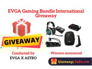 EVGA Gaming Bundle International Giveaway