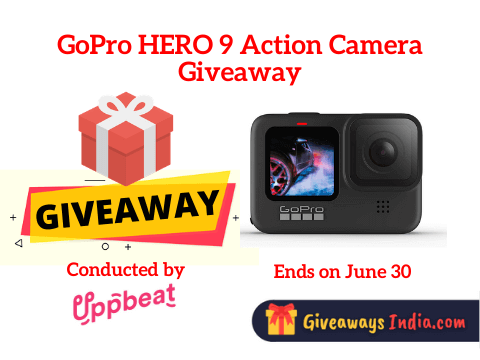 GoPro HERO 9 Action Camera Giveaway
