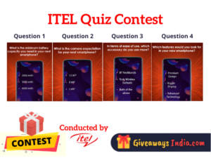 Itel Quiz Contest