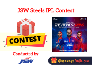 JSW Steels IPL Contest