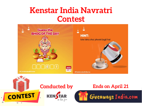 Kenstar India Navratri Contest