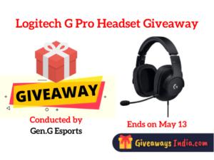 Logitech G Pro Headset Giveaway