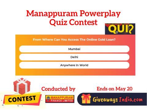 Manappuram Powerplay Quiz Contest