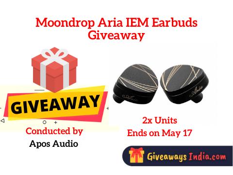 Moondrop Aria IEM Earbuds Giveaway