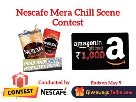 Nescafe Mera Chill Scene Contest
