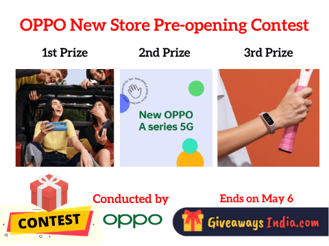 OPPO New Store Pre-opening Contest
