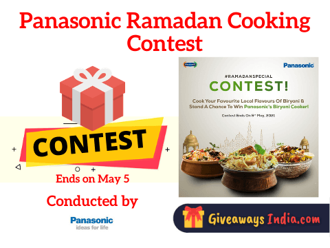 Panasonic Ramadan Cooking Contest
