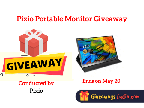 Pixio Portable Monitor Giveaway