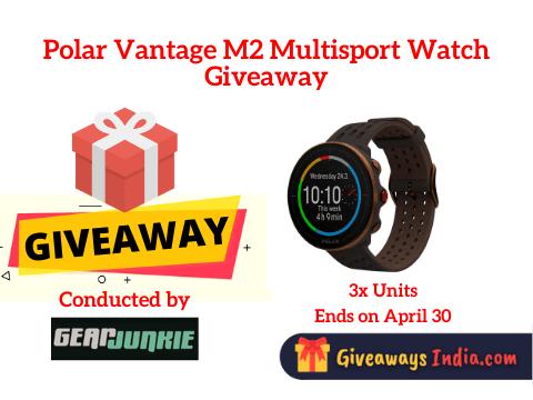 Polar Vantage M2 Multisport Watch Giveaway