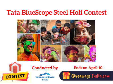 Tata BlueScope Steel Holi Contest