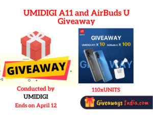 UMIDIGI A11 and AirBuds U Giveaway