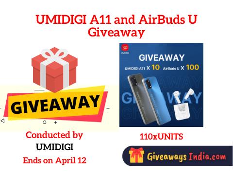 UMIDIGI A11 and AirBuds U Giveaway
