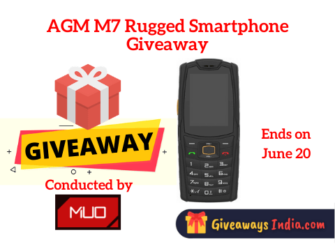 AGM M7 Rugged Smartphone Giveaway