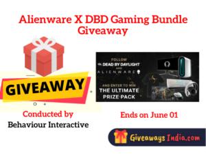 Alienware X DBD Gaming Bundle Giveaway