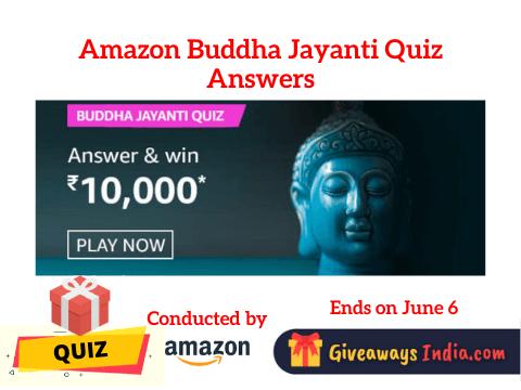 Amazon Buddha Jayanti Quiz Answers