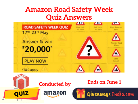 Amazon Road Safety Week Quiz Answers